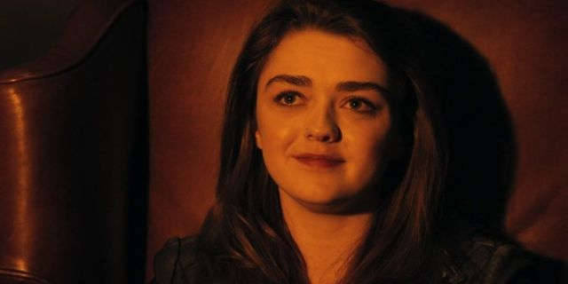 Maisie Williams as Ashildr on Doctor Who