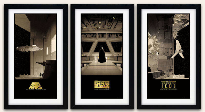 Check Out These Gorgeous Star Wars Posters
