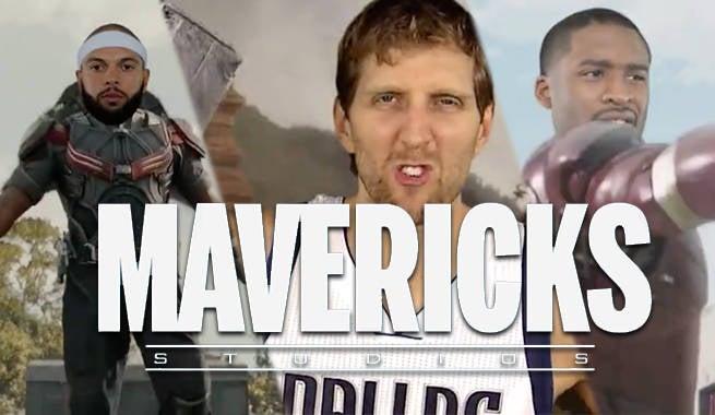 Dallas Mavericks Assemble In Marvel Style Hype Video