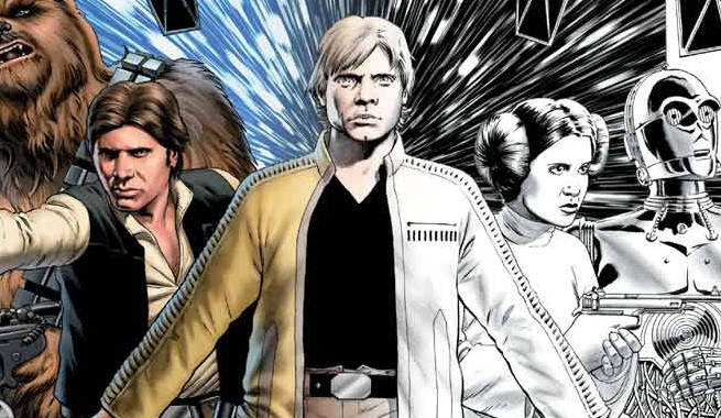 Marvel Announces Star Wars Comic Coloring Book