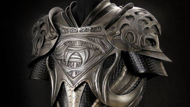 Someone Built Man Of Steel Inspired Armor