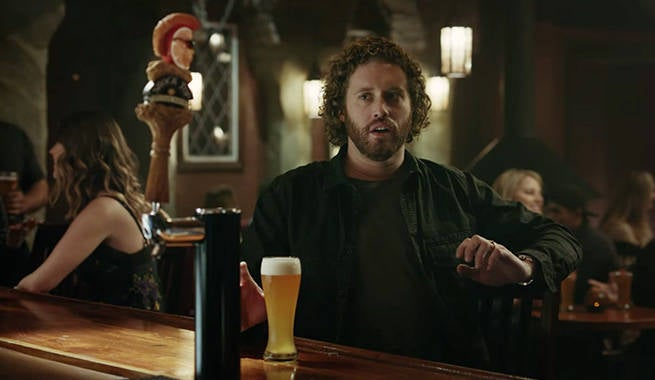 shock top super bowl commercial stars deadpool 39 s t j miller. Black Bedroom Furniture Sets. Home Design Ideas