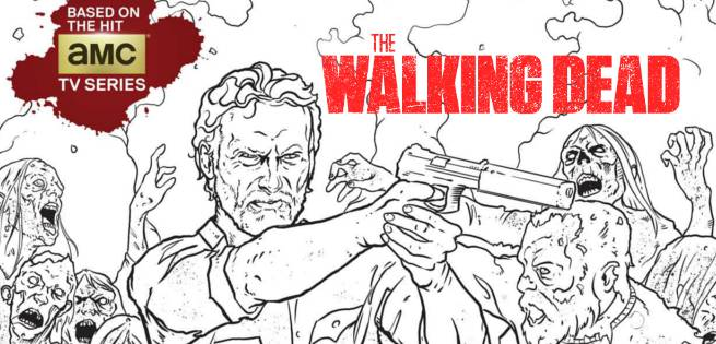 The Walking Dead TV Series Is Getting A Coloring Book