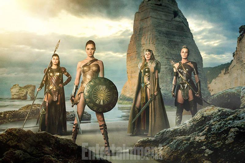 Wonder Woman Amazons