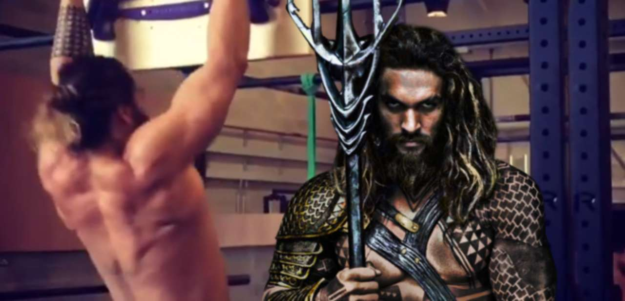 Image result for Jason Momoa in justice leagueworkout