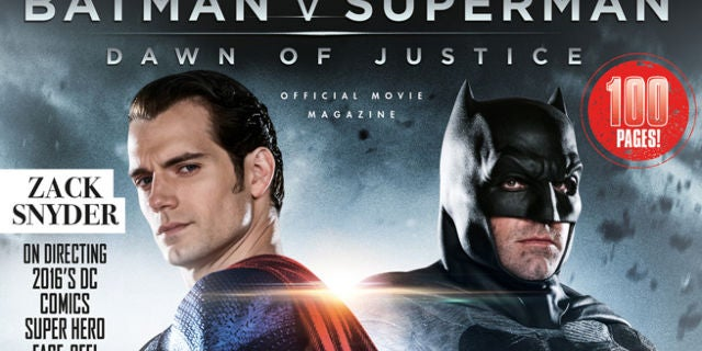 BatmanVSuperman Magazine Header