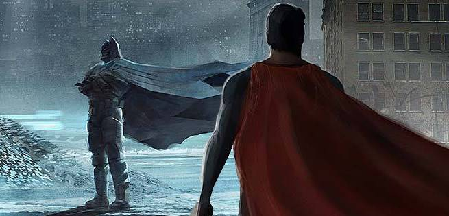 Gorgeous Batman V. Superman: Dawn Of Justice Concept Art