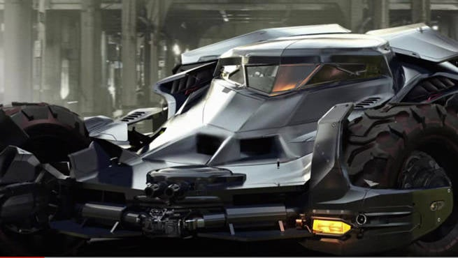 Batman v superman 39 s batmobile designer shares concept art and inside secrets - Superman interior designs ...