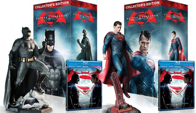 BvS Blurays