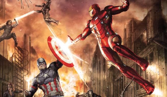New Captain America: Civil War Promo Art Revealed