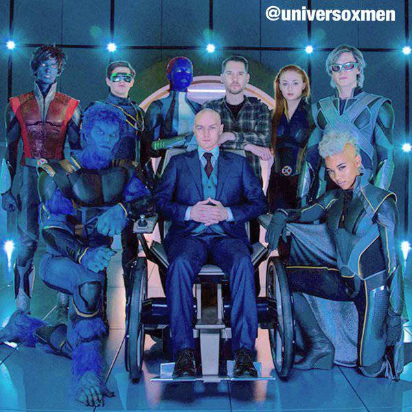 Men  Apocalypse New Co...