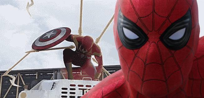 Fan Inserts Iron Spider Into The Captain America: Civil War Trailer