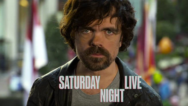 Game Of Thrones' Peter Dinklage Saturday Night Live Preview Released