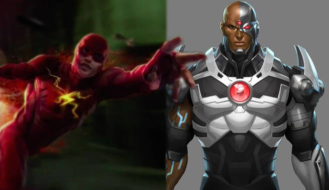 The Flash And Cyborg Confirmed In Batman V. Superman: Dawn Of Justice