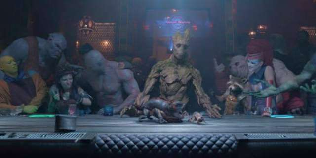 James Gunn Shares Groot's Last Supper Cut Scene From ...
