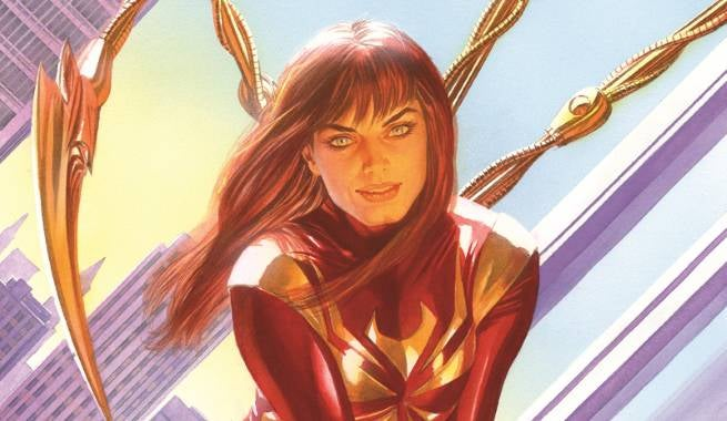 Mary Jane Iron Spider