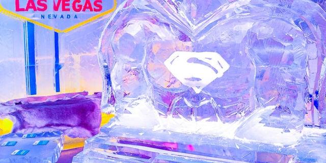 Minus5 Ice Bar Superman