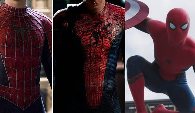 How Spider-Man's Costume in Captain America: Civil War Differs From What's Come Before