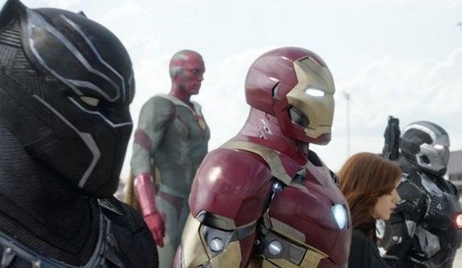 Team Iron Man - Captain America Civil War