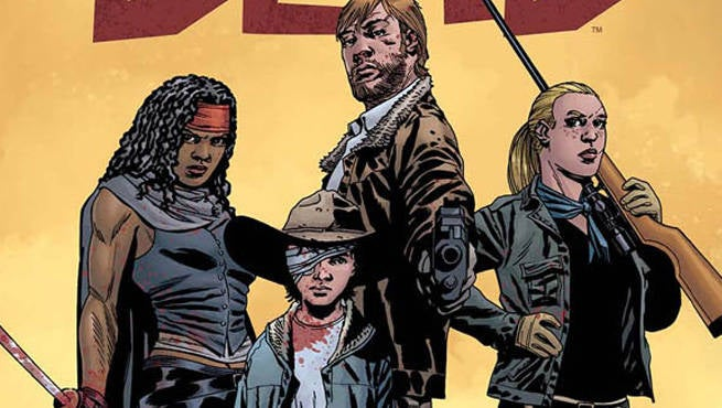 The Walking Dead Coloring Book Sample Pages Released