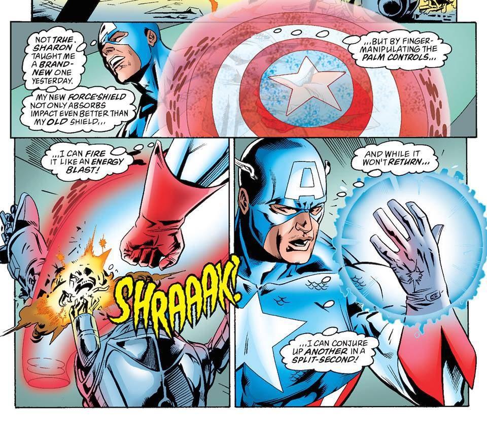 Cap's Energy Shield