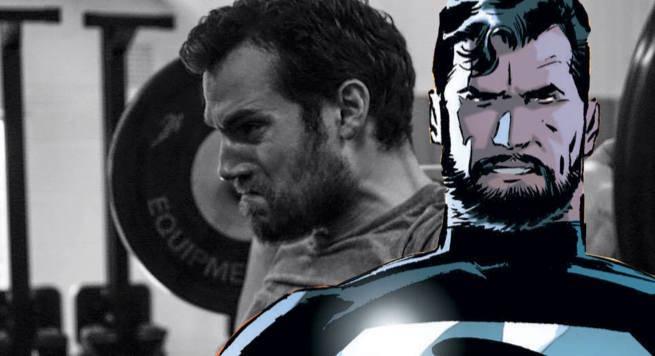 Bearded Superman Henry Cavill