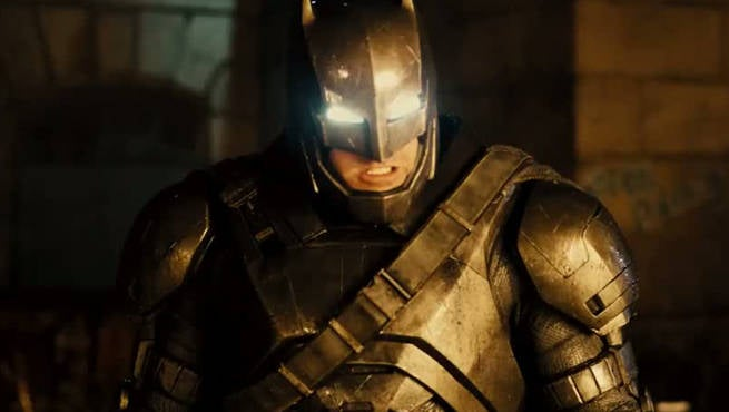 BVS Armored Batman
