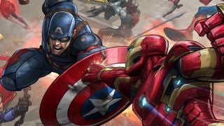 Cap Civil War Patrick Brown Art