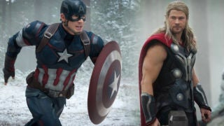 Cap Thor Battle