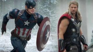 Cap Thor Battle