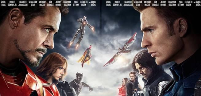 new captain america civil war posters released