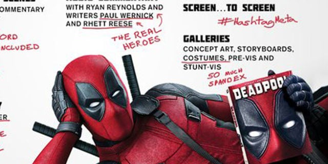 Deadpool Special Features