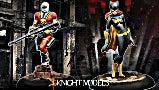 Deadshot Batgirl Knight Models