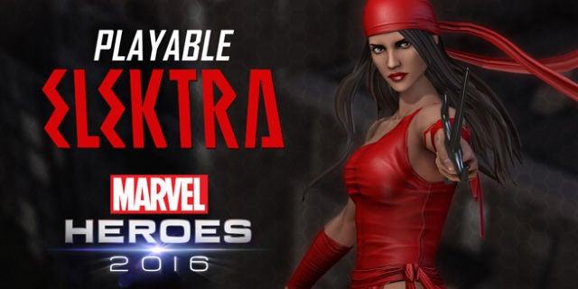 Elektra Marvel Heroes 2016