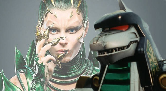 Does Rita Repulsa Control The Dragonzord In The Power Rangers Movie?