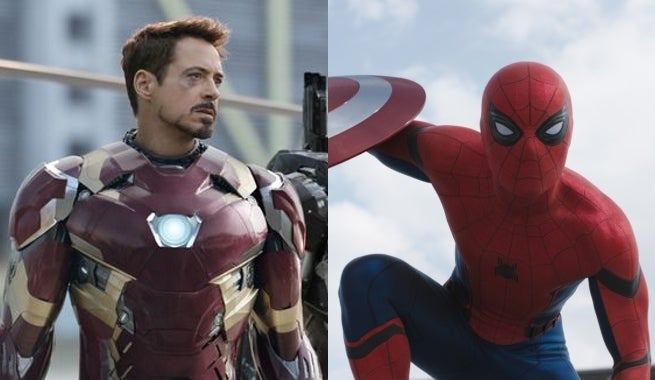 Robert Downey Jr. Teases That Iron Man Might Be A Part Of Spider-Man Movie