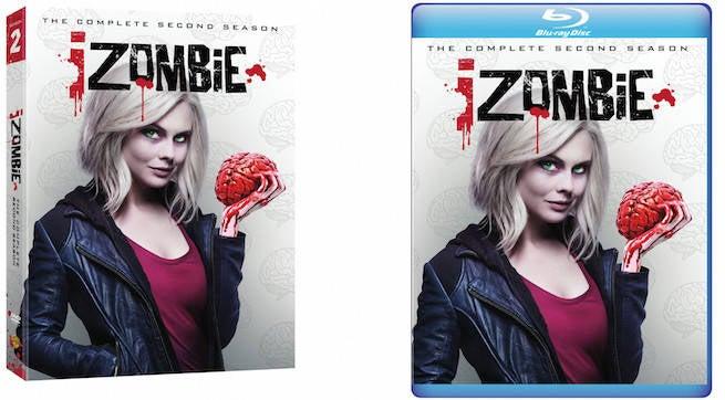 izombie season 1 gets a blu ray season 2 comes to blu ray and dvd