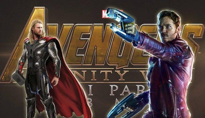 Thor StarLord InfinityWar