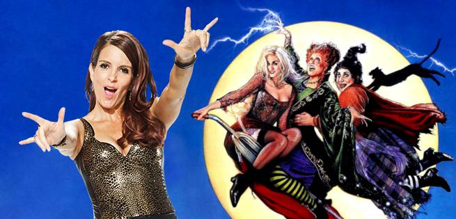 Tina Fey Says Hocus Pocus Script In Development But It's Not A Remake