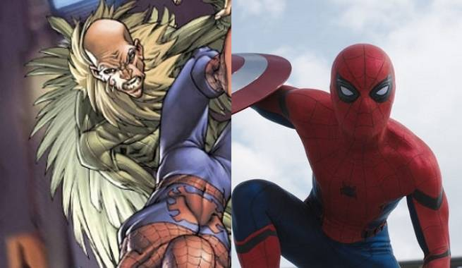The vulture rumored to appear in spider man movie reboot