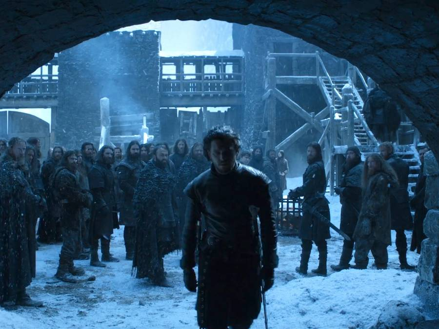Image result for jon snow left night watch