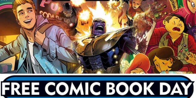 Free Comic Book Day 2016 Header