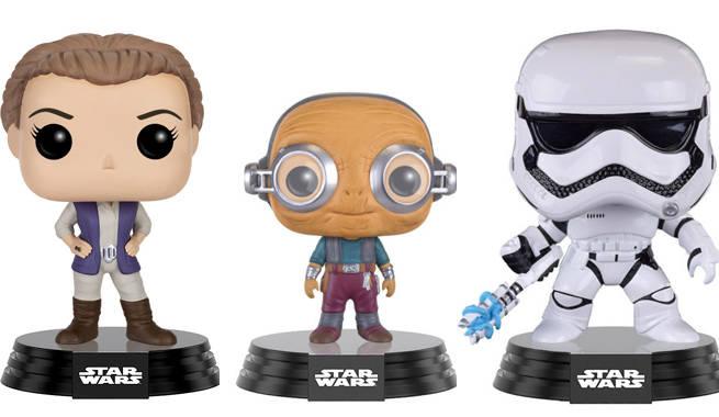 New Star Wars The Force Awakens Funko Pop Vinyls Revealed