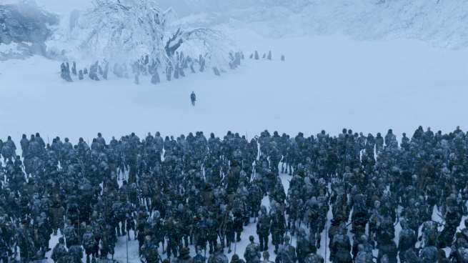 game of thrones reveals the origin of the white walkers
