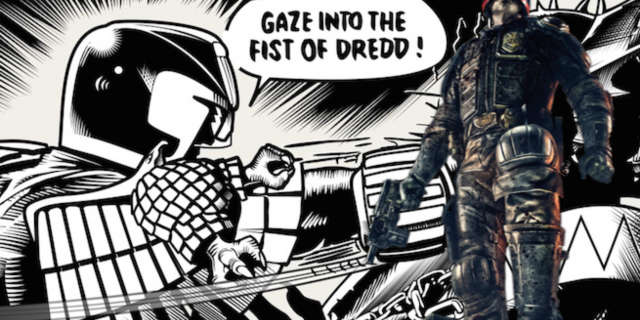 Gaze into the fist of dredd0