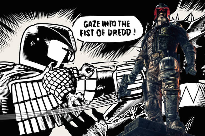 Gaze into the fist of dredd0