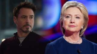Hillary Iron Man
