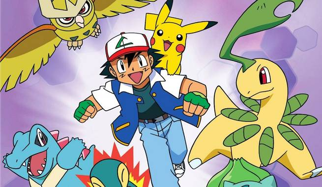 news pokemon johto league champions comes out on dvd