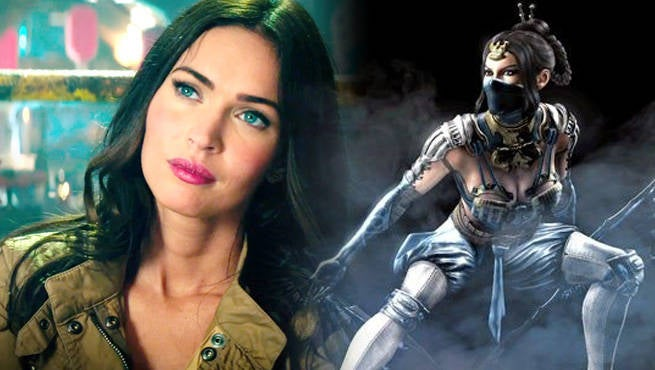 Megan Fox Wants To Play Kitana In A Mortal Kombat Movie