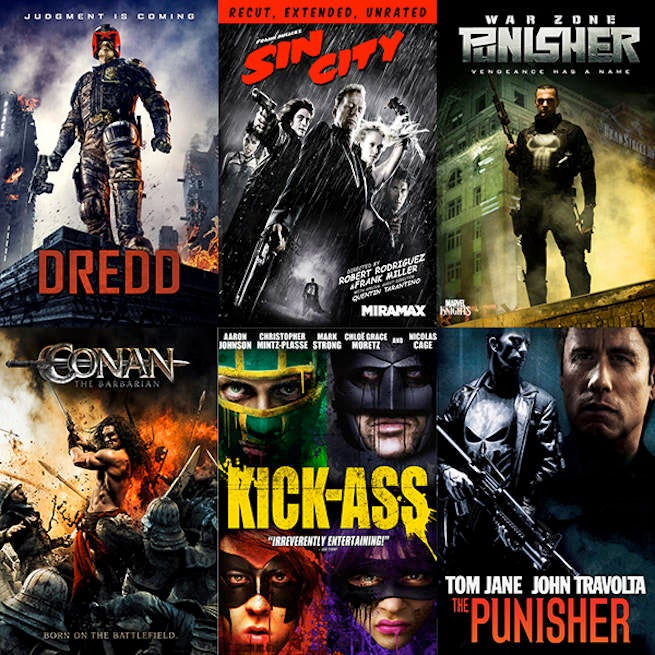 Enter to Win Seven Comic Book Movies In the Not Your Average Hero Bundle From Lionsgate